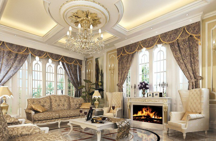 Living Room Ceiling Designs