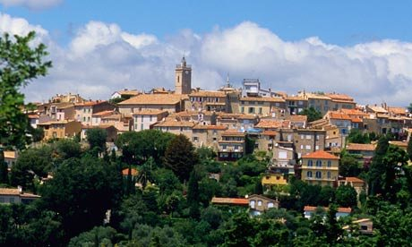view of Mougins France